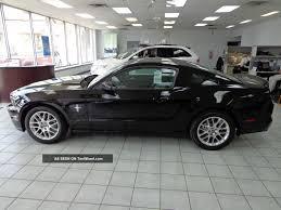 2014 Black Ford Mustang Ford Mustang V6 Premium 2014