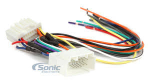 scosche ha09b wiring harness to connect an aftermarket stereo