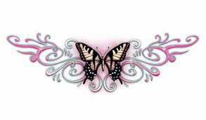 lower back butterfly