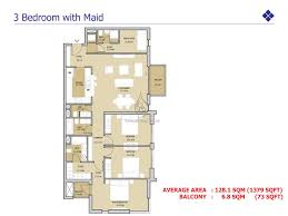 views 3 bedroom duplex with maid floor plan