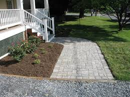Patio Ideas Using Pavers by Good Looking Home Exterior Decorations Of Front Porch Pavers