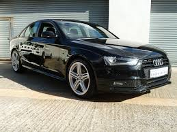 used audi a4 black edition petrol cars for sale motors co uk