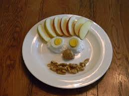 smile snack plates joyful