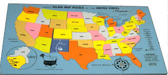 Usa Map With Names by Jigsaw Puzzle Map Puzzles