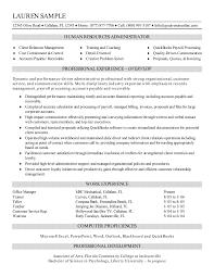 director human resources resume hr resume examples generalist of resumes human resource