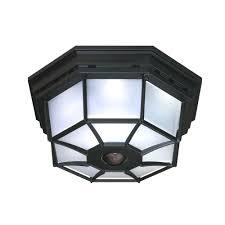 Outdoor Ceiling Light Motion Sensor With Hampton Bay 360 Square 4