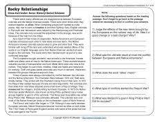 9th Grade Reading Comprehension Worksheets Plants Are Producers Reading Comprehension Worksheets