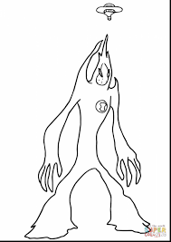 fantastic monsters vs aliens coloring pages with alien coloring