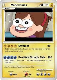 Pokemon Card Meme - mabel pokemon card by unicornselfies on deviantart