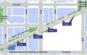 New York Washington Map by Women Take Washington New York Avenue Sculpture Project Moore