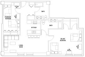 2 bed 2 bath floor plans 2 bed 2 bath a shared bedroom standard crossings