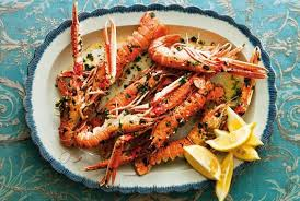 cuisiner langoustine roasted langoustines recipe by valentina harris
