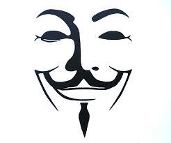 V For Vendetta Mask Guy Fawkes V For Vendetta 4 Vinyl Logo Decal Sticker For