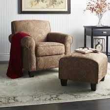Easy Chair With Ottoman Design Ideas Portfolio Mira 8 Way Paisley Arm Chair And Ottoman