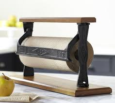 cuisine paper towel holder pottery barn kitchen modern