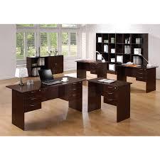 Office Desk Walnut Office Desk Walnut Lilian Construction Furnishing Pte Ltd