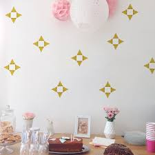 funlife cartoon triangle geometric kids design decorative diy wall funlife cartoon triangle geometric kids design decorative diy wall mural sticker for nursery room decoration lv022 in wall stickers from home garden on