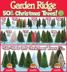 christmas tree on sale garden ridge all christmas trees 50 other deals al