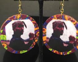 tupac earrings tupac mermaid tie dye t shirt