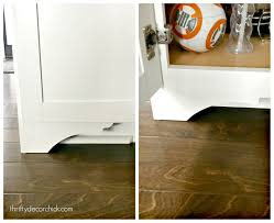 kitchen base cabinets legs diy furniture for basic kitchen cabinets from thrifty