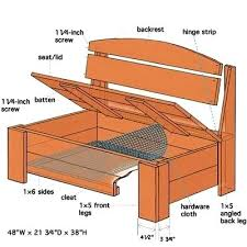 Building A Garden Bench Seat Outside Bench With Storage U2013 Amarillobrewing Co