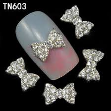 discount nail art supplies rhinestone bows 2017 nail art