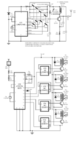 Rf Switch Matrix Schematic Diagrams Telephony Communication Dtmf Decoder Using Mt8870de