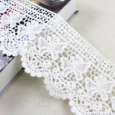 wide lace ribbon aliexpress buy 2 yards 12cm wide lace ribbon hollow out
