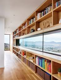 Floor To Ceiling Window This House Overlooks A Desert Landscape From A Hillside In Texas
