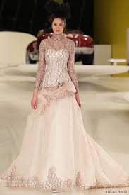 Pink Wedding Dresses With Sleeves 537 Best Pastel Wedding Gowns Images On Pinterest Wedding