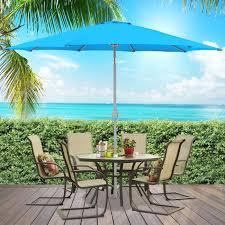 13 Patio Umbrella bcp 9 u0027 aluminum patio market umbrella tilt w crank outdoor