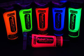 glow paint paint glow uv blacklight reactive hair gel fast usa shipping ebay