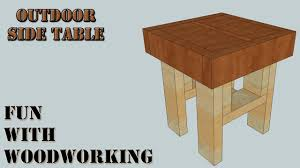 Outdoor End Table Plans Free by 2x4 End Table Beyond Belief On Ideas Together With 24 Plans Diy