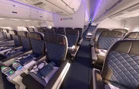 Delta Comfort Plus Seats Delta Premium Goes For Biz Minus Amenities But Average Seat
