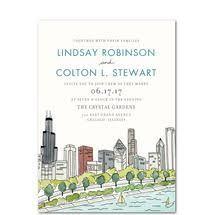 Wedding Invitations Chicago 9 Best Wedding Invites Images On Pinterest Wedding Cards