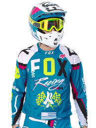 fox motocross jersey fox teal 2017 360 rohr mx jersey fox freestylextreme united