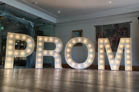 large light up letters prom light up letter hire the letter hire people