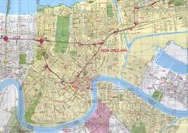 map of new city new orleans louisiana city map new orleans louisiana mappery