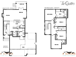 two story floor plan double storey 4 bedroom house designs perth