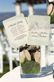 Diy Wedding Program Fans Kits A Vintage Outdoor Wedding In Kelowna British Columbia Program