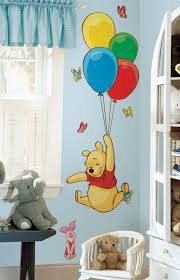 kids room interior wall decoration with kid wall decals for large size of pooh and piglet also ballons giant color wall decal decor design idea nursery