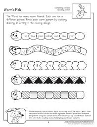 growing pattern worksheet first grade jpg 810 1064 math grade