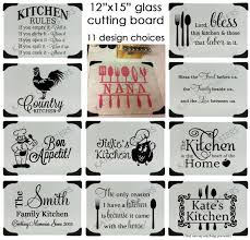 personalized glass cutting board tempered glass cutting board personalized 19 best cutting boards