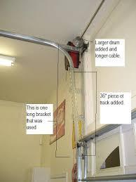 Overhead Door Track Overhead Door Track Questions New Install The Garage Journal Board