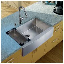 kitchen sink with faucet astonishing kitchen appliances stainless steel apron sink and