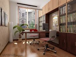 home office amazing home office design for small space with red