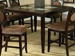 glass counter height table sets round counter height table set lesdonheures com