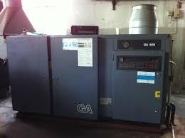 used atlas copco ga 508 oiled compressor exapro