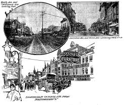 Chicago Ward Map 1910 by North Avenue