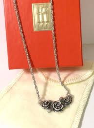 ebay necklace images Retired james avery sterling silver rose necklace 15 17 quot ebay jpg
